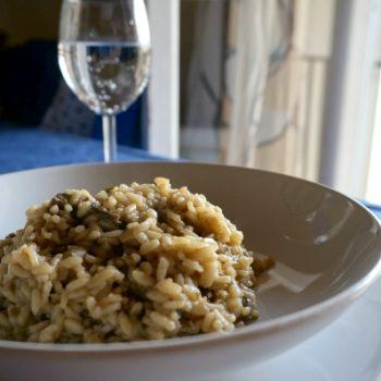 Risotto Ai Funghi Porcini お土産でもらった乾燥ポルチーニでリゾット