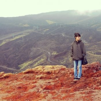 活火山エトナ山で夕焼けを眺めながらピクニック!シチリア旅行記3日目。