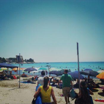海水浴は外せないのがイタリア流バカンス。シチリア旅行記5日目。