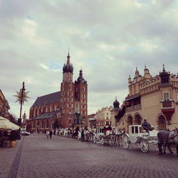 ポーランドのクリスマス(1)美しいクラクフの街 (Christmas in Poland-1)