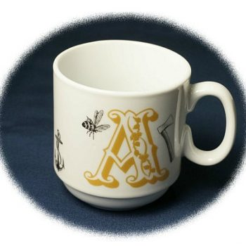 フィレンツェ生まれのマグカップでイタリア語学習はいかが?