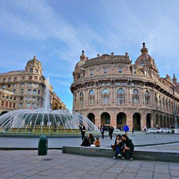 北イタリアの旅(5)豪華な建物にうっとりする美しい街、ジェノヴァ