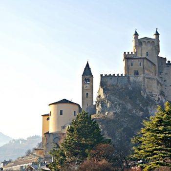 北イタリアの旅(2)お城だらけのロマンチックなヴァッレ・ダオスタ