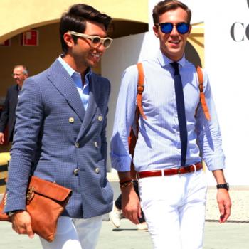 【イタリア人男性ファッションブロガー】に学ぶ春夏バッグ・コーディネート
