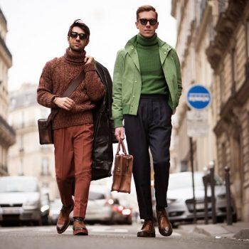 【イタリア人男性ファッションブロガー】に学ぶ秋冬バッグ・コーディネート
