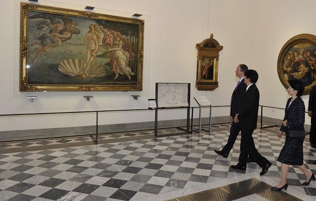 Visita Altezze Imperiali Uffizi - Foto Sergio Garbari 5