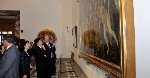 Visita Altezze Imperiali Uffizi - Foto Sergio Garbari 6