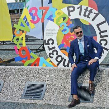 ピッティ・ウオモ90回イタリアのメンズファッション写真スナップ一挙公開(前篇)