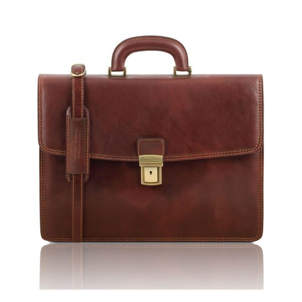 イタリア製メンズビジネスバッグ、イタリア製植物タンニン鞣し