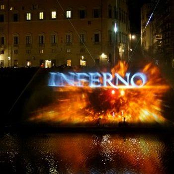 映画「インフェルノ」撮影地のフィレンツェでワールド・プレミア
