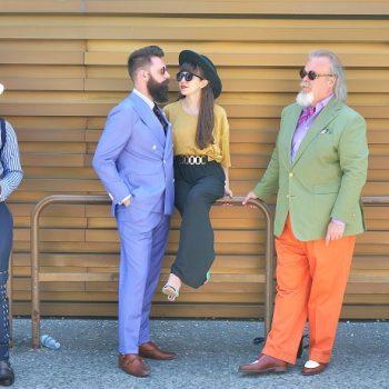 ピッティ・ウオモ2017年6月イタリアのファッション・スナップ(後篇)
