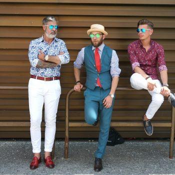 ピッティ・ウオモ2017年6月イタリアのファッション・スナップ(前篇)5