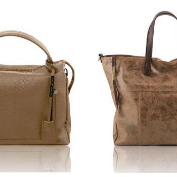 イタリア製本革バッグ、トープ、ダークトープ、グレージュ、ベージュグレイ
