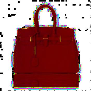 シボ型押しレザーのエレガントなハンドバッグTL BAG