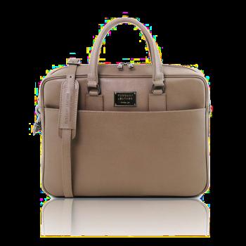 イタリア製サフィアーノレザーのビジネスバッグ