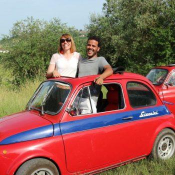 フィアット好きの夢が叶うツアー! ヴィンテージの500で巡るフィレンツェの街と田舎/Fiat magazine