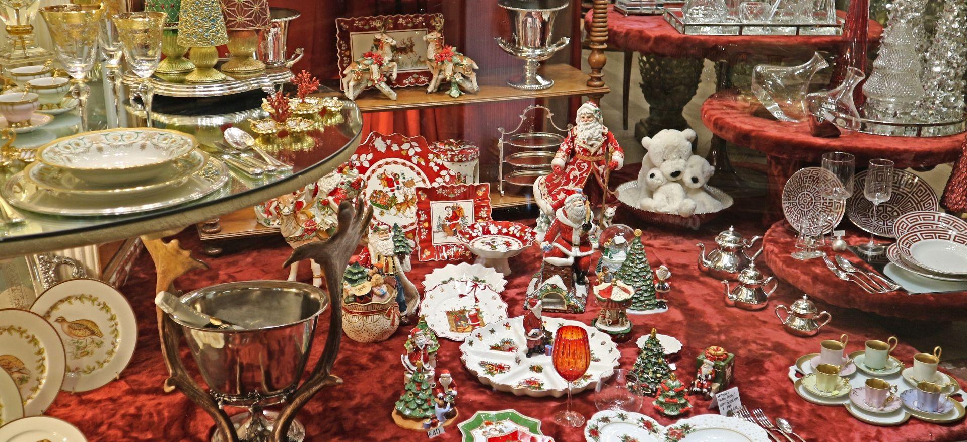 フィレンツェのクリスマスショーウィンドー