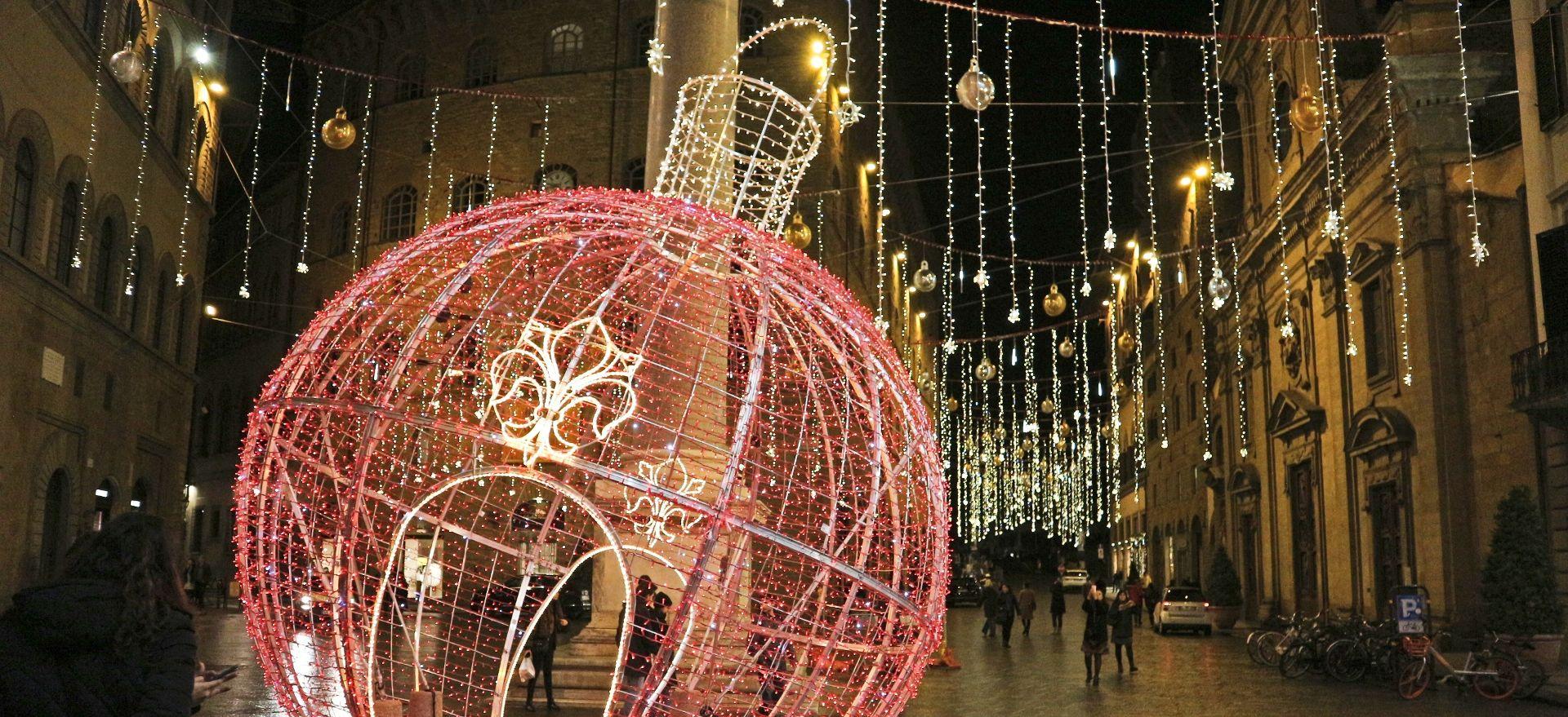 フィレンツェのクリスマスイルミネーション4