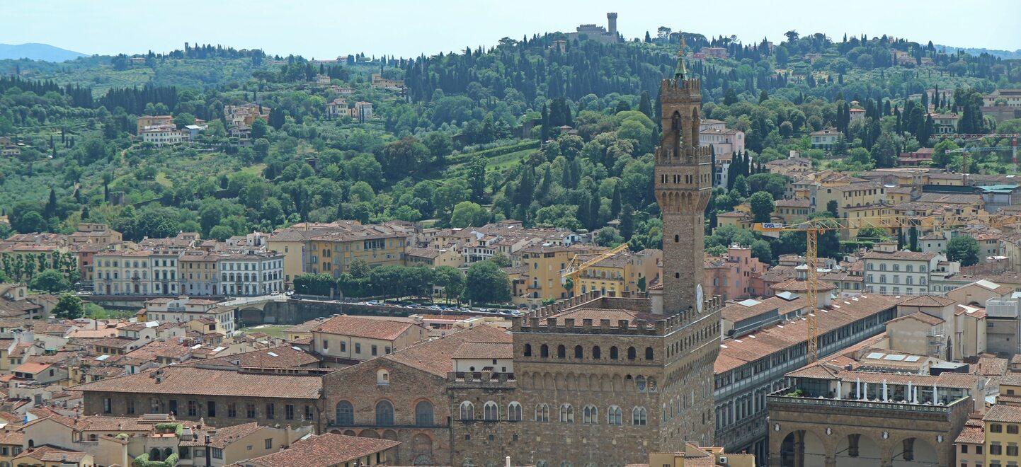 鐘楼からのフィレンツェの眺め1