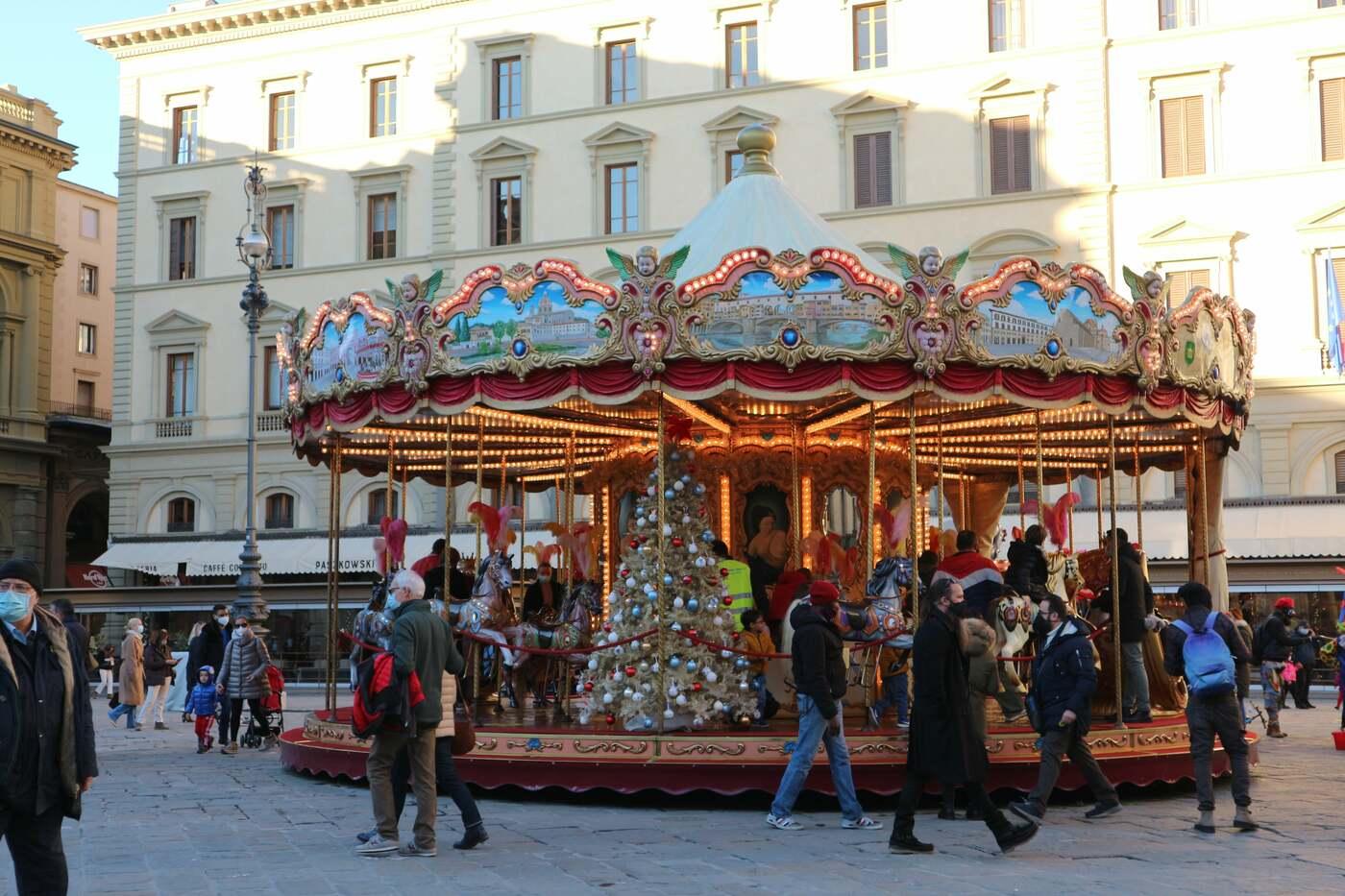 コロナ禍のフィレンツェのクリスマス