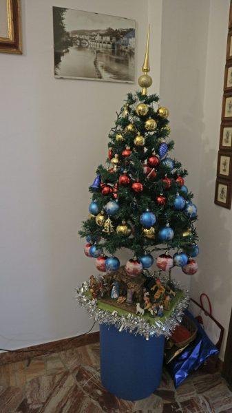 イタリアのクリスマスツリー