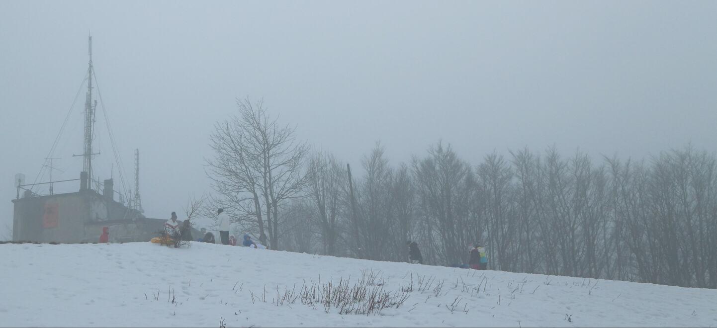 トスカーナの雪景色_スノー