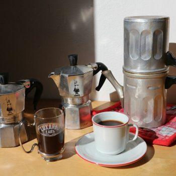 マキネッタでいれるイタリア流コーヒー